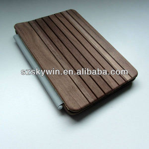 2014 new product wooden tablet covers with engraving design