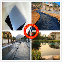 HDPE Geomembrane used in river, lake, reservoir