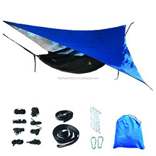 Outdoor furniture Muti-functional Tent Shelter Lightweight Waterproof camping hammock with rain fly
