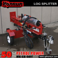 Briggs&Stratton I/C Gross CE approved horizontal industrial size wood splitter automatic