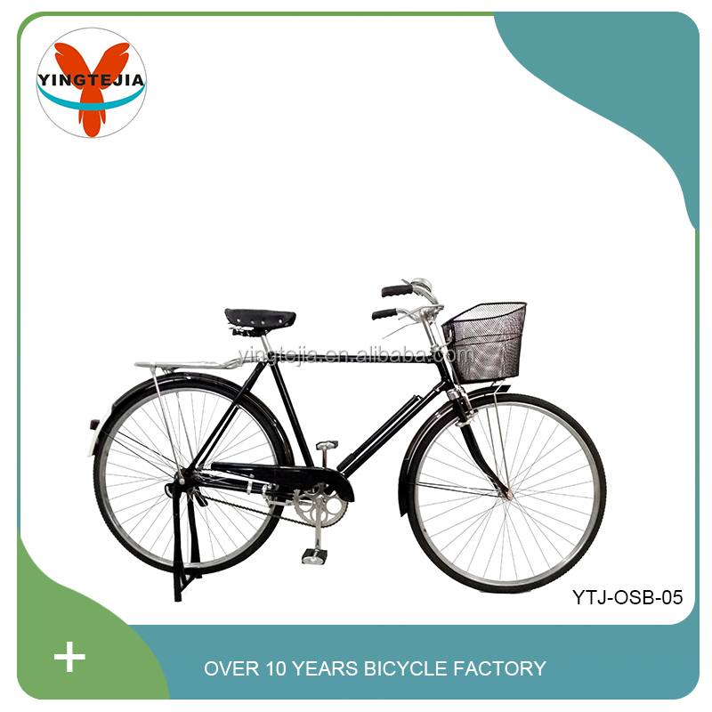28 inch steel rim material fashional style adult heavy duty bicycles with strong carrier and best price Made in China