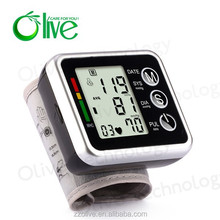 Olive bluetooth blood pressure monitor bluetooth wrist/arm blood pressure monitor