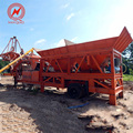 Auto/ manual mobile harga concrete batching mixer