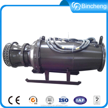 Large axial flow propeller electric motor high pressure water pump