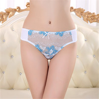 Four colors ladies without bra and underwear transparent cotton kids underwear models sexy wholesale women underwear