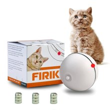 Cat Toys - Automatic Rolling Ball - Light Interactive Entertainment Exercise For Cats And Puppy Dogs