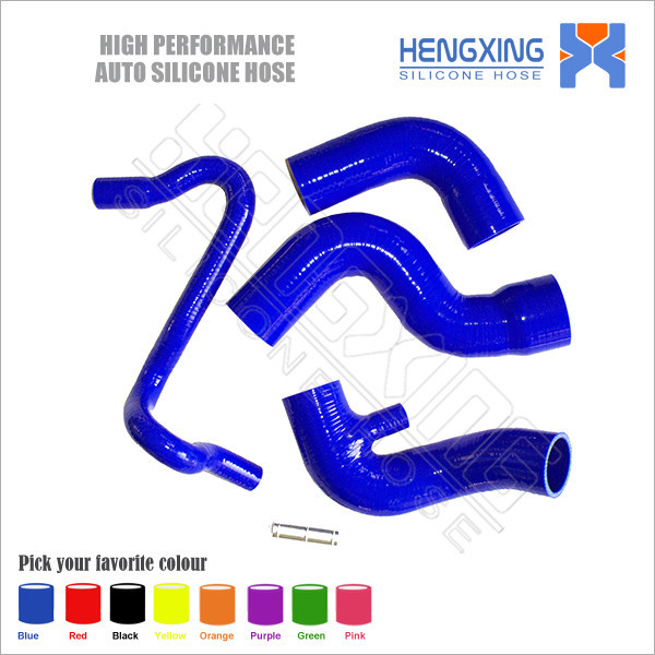 Silicone Radiator Hose Pipe Tubing Kit For Audi A4 for VW passat B5 1.8T silicone intercooler turbo hose