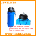 Hot novelty items for silicone promotional water bottle