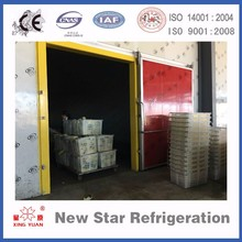 Fresh apple orange banana fruit cool/ cold storage room