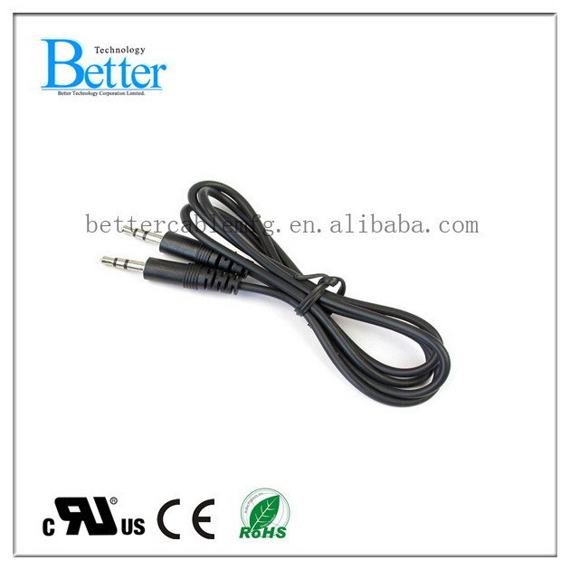 Fashionable unique 3. jack stereo audio for aux cable