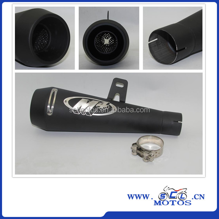 51mm Universal Motorcycle Exhaust <strong>Muffler</strong> Pipe Case For Honda CBR1000 Case for Yamaha R6 For Kawasaki M4