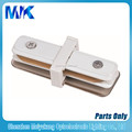 High quality track likghting fixture 2 wire led track rail mini I straight conector
