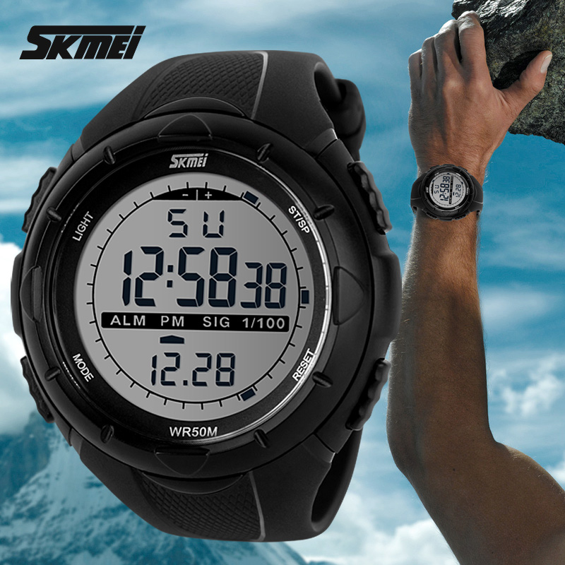 China wholesale alibaba big dial sport digital smart watch for men