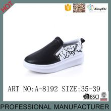 Special Design Cheap PU Upper Slip On Extreme Platform shoes for girls