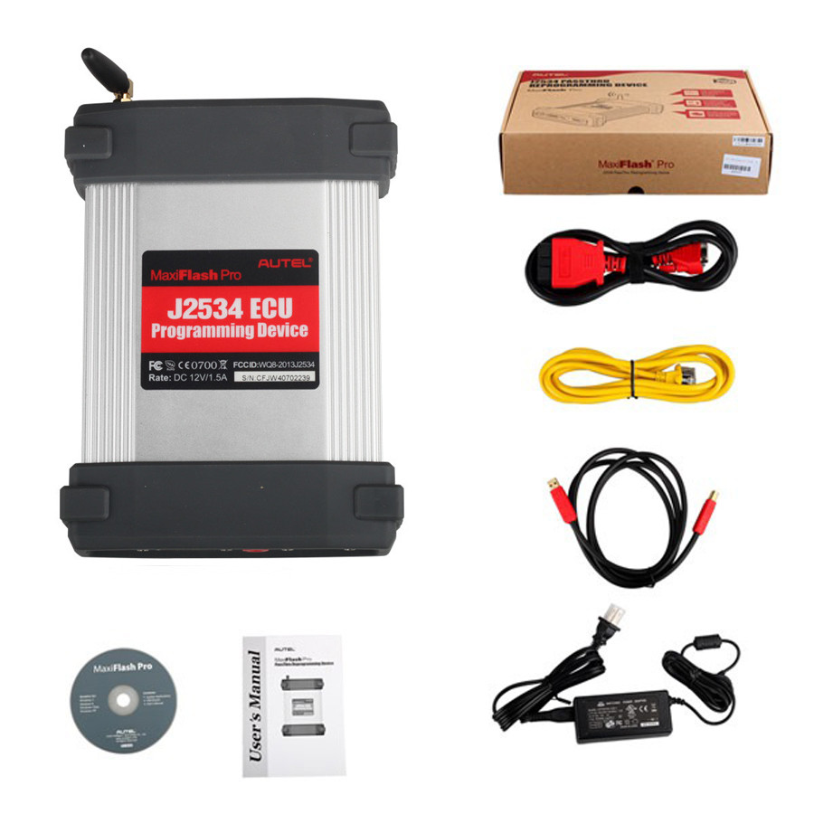 Autel MaxiFlash Pro <strong>J2534</strong> ECU Programming Tool Works with Maxisys 908/908P