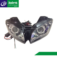 HID Headlights Motorcycle Projectors Headlight with Angel Eye Price For Yamaha YZF-R15