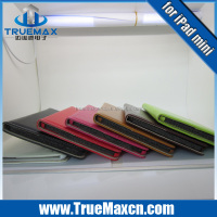 2014 New style Hot pressing leather case for apple iPad mini 7 inch tablet PC