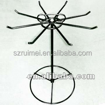 Spinning Counter Top Metal Wire Card Display Rack Stand
