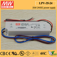 MEAN WELL 24V LED Transformer 35W UL LPV-35-24