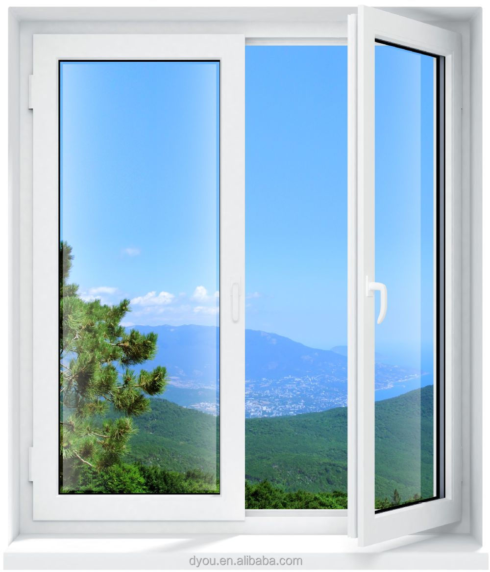 China wholesale aluminum exterior door with opening window for Outside door with window that opens