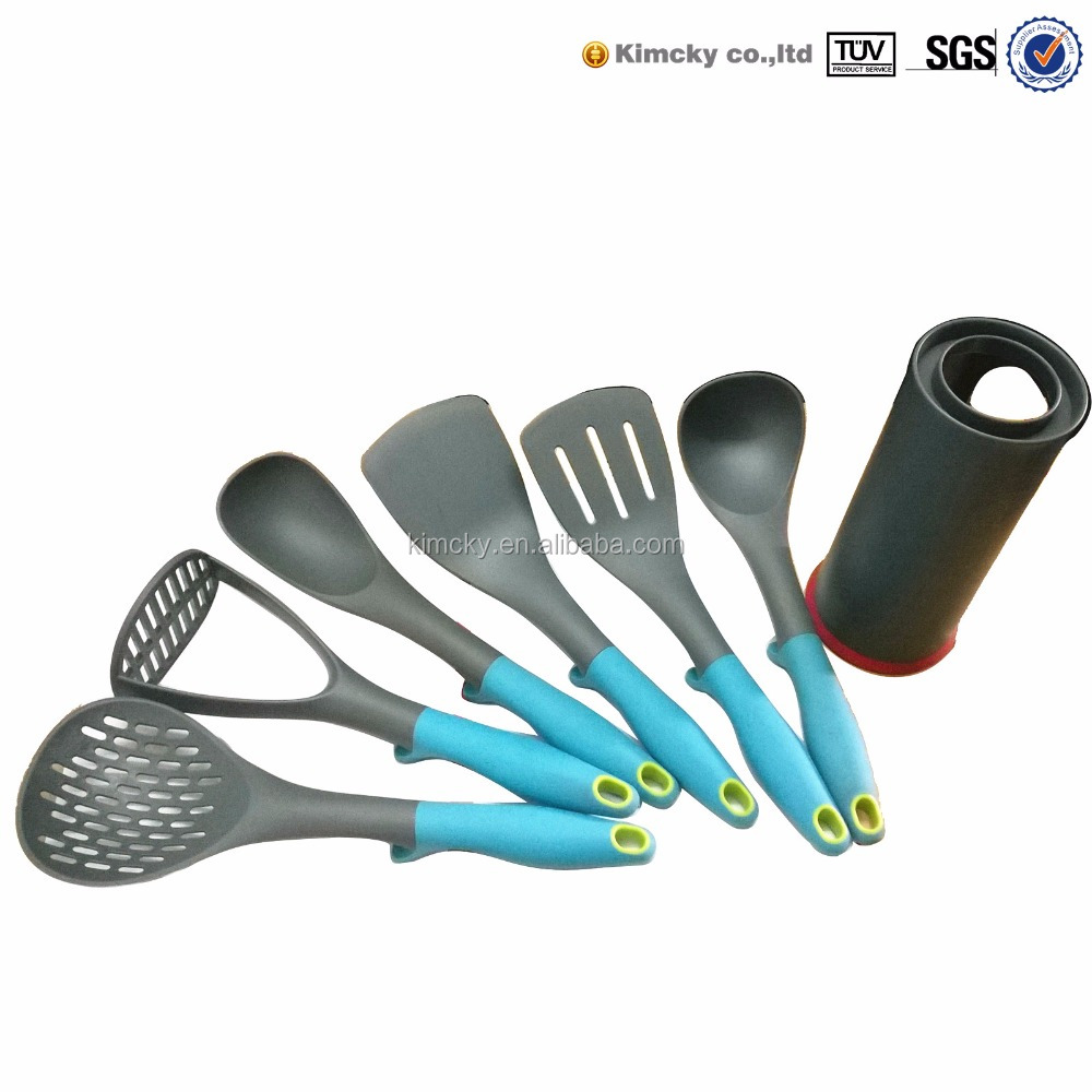 Nylon kitchen tools kits cooking set buy cooking tool for Gardening tools jakarta