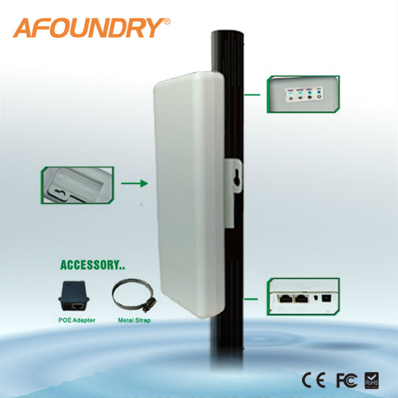 5.8G long range access point with poe,AR9344 chipset, Multi-operation mode,300mbps,14Dbi antenna,ip65waterproof