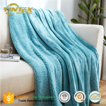 China Suppliers Home Textile Variety of solid colors Polar Blanket Fleece