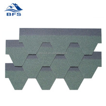 Cheap Wholesale Philippines fiberglass asphalt tile for Leisure house, fiberglass roof tile
