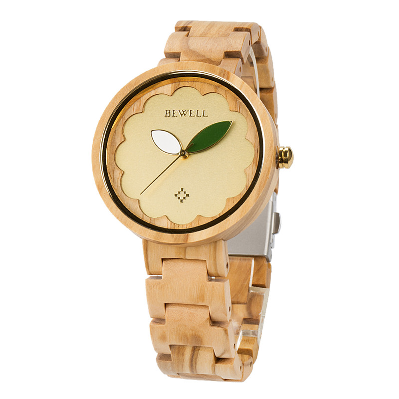New Arrival Customized Design Olive Wood watches wholesale wrist