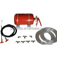 Manual Fire Extinguisher kit for Racing Car