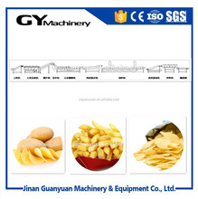 Full automatic fresh frozen french fries processing plant/potato chips line