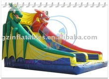 {Qi Ling}durable &safe dragon slide inflatable