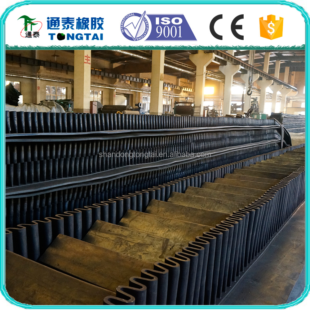 oil resistant endless rubber conveyor belt, cheap conveyor belt, corrugated box conveyor belt
