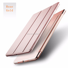 Protective Back PU Leather Tablet Cover for Apple iPad air1/2 PU+PC for ipad air2 material tablet cover