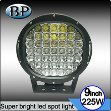 Guangzhou Auto Parts High Power 18800LM 225W LED Work light 10 inch 225w LED Driving Light for 4X4 accessories