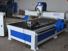 4 axis cnc router woodworking cutting machine 1300x2500mm SM1325