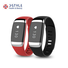 J-Style Hot selling bluetooth smart activity tracker ECG heart rate monitor