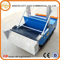 Saving more than 20% raw material (cement &sand) XJFQ-1800 automatic wall plastering machine, automatic rendering machine