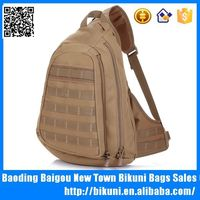 China Wholesale big size military tote bag canvas chest pack bag