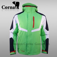 Last design fashionable name brand mens ski jacket