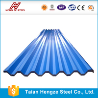 color coated roof /prefabricate steel/ house roof model