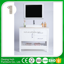 Hangzhou bathroom vanity cabinet/wood/pvc bath vanity for lowes bathroom vanity cabinets made in china