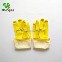 ISO/CE approved high quality cotton lined latex household gloves
