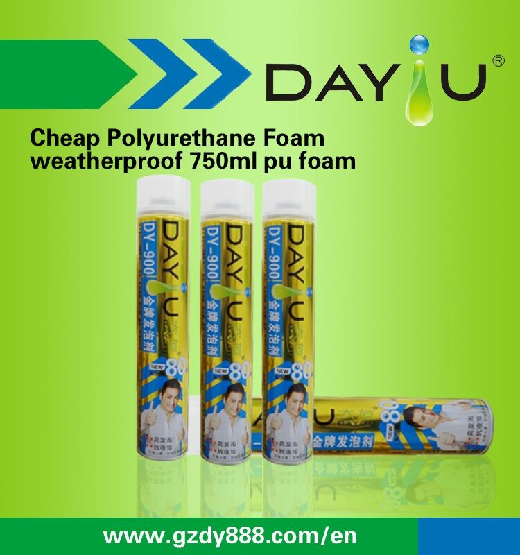 High Density Polyurethane Foam Liquid DY900 PU Foam With Straw