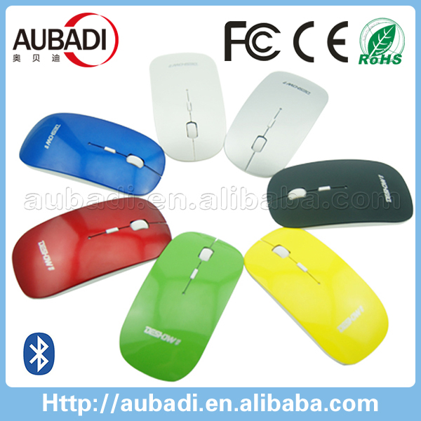 Promotional gift!Customized Cordless Scroll Computer PC Mice Bluetooth 2.4GHz wireless optical mouse with USB Dongle