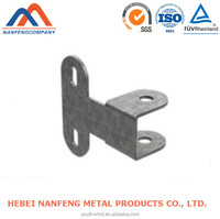 T Shape Bracket Fabricated Produce OEM Stamp Galvanized Metal T Shape Bracket