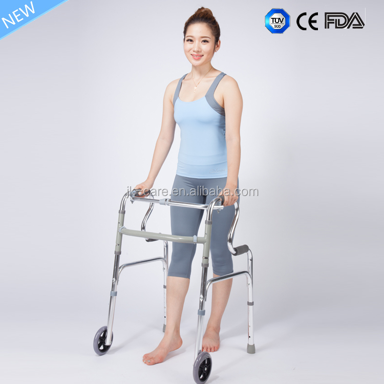 Multi-function Aluminum Walker disable rollator for disabled walking aid