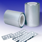 0.4mm Clear transparent PVC rigid film pharm blister packing sheet