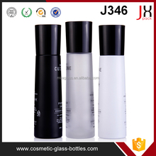 Luxury Simple 40ml 100ml 120ml Cosmetic Pump/Lotion Bottle Frosted Cosmetic Glass Bottle