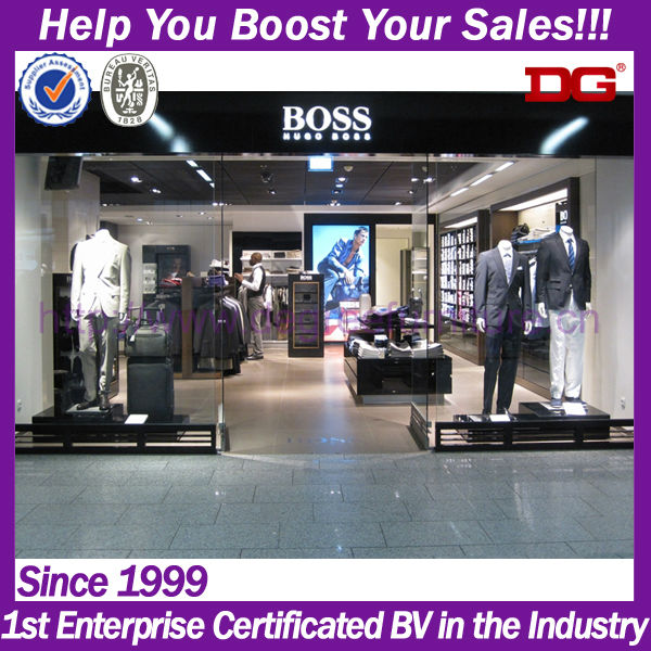 Name branded business men store wholesale clothing for retail